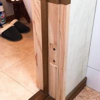補修の木目描き