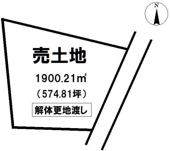 不動産富士宮市宮原の売地 1900.21㎡