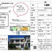 静岡市清水区梅ケ谷 27.43坪の売土地
